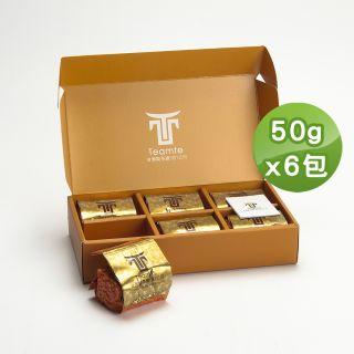 【TEAMTE】台灣瑰寶梨山貴妃烏龍茶-環保包裝