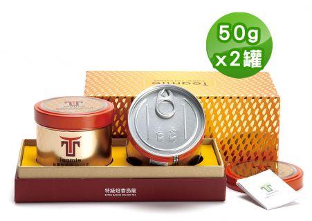 大禹嶺特級焙香烏龍茶葉禮盒