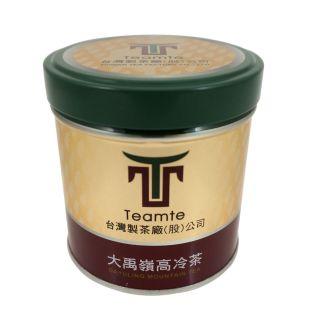 大禹嶺霜韻高冷烏龍茶2件組(75g真空鐵罐裝)