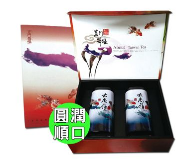 【TEAMTE】手採大禹嶺高冷烏龍茶-半斤茶葉禮盒